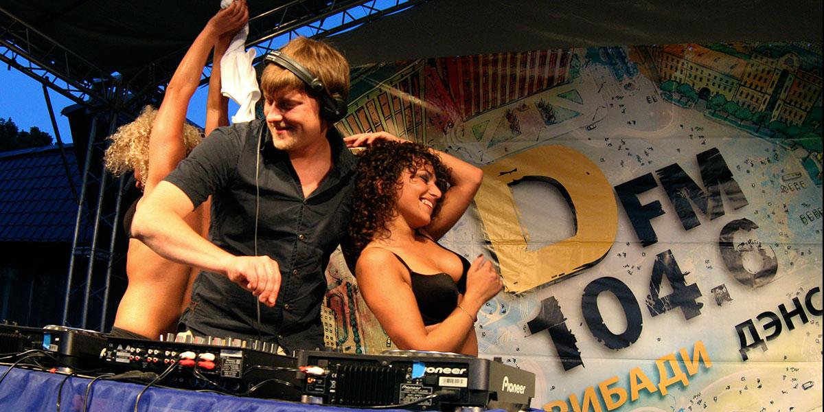 Танцевальный День Города Пскова  DFM